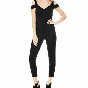 GUESS Aiden Off-The-Shoulder Jumpsuit Size S